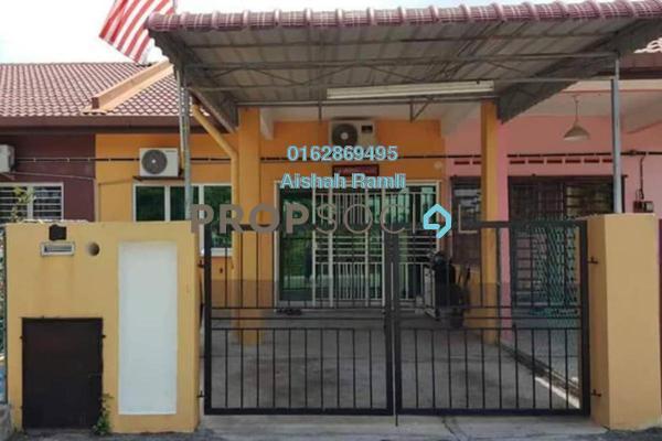 For Sale Terrace at Taman Dato Hormat, Telok Panglima Garang Freehold Semi Furnished 4R/2B 330k