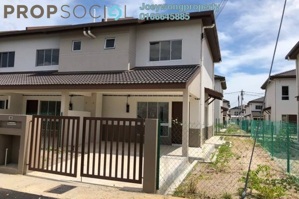 For Sale Terrace at Desiran Bayu, Puchong Freehold Unfurnished 4R/3B 590k