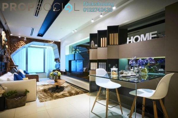 For Sale Serviced Residence at NOVO Ampang, Ampang Hilir Freehold Semi Furnished 1R/1B 920k