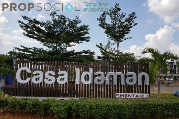 For Sale Bungalow at CasaIdaman, Setia Alam Freehold Semi Furnished 6R/5B 2.1m