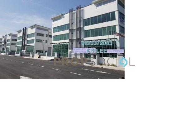 For Sale Semi-Detached at Bukit Kemuning Industrial Park, Kota Kemuning Freehold Unfurnished 0R/0B 4.1m