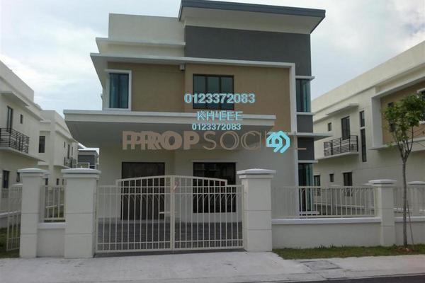 For Sale Bungalow at Taman Aman Perdana, Meru Freehold Unfurnished 6R/6B 1.25m