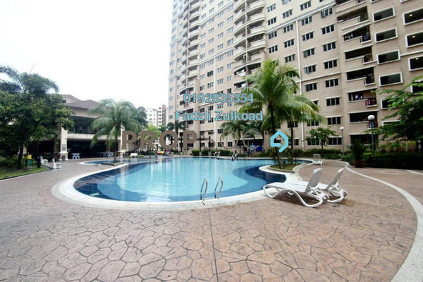 For Sale Condominium at Cengal Condominium, Bandar Sri Permaisuri Freehold Semi Furnished 3R/2B 420k