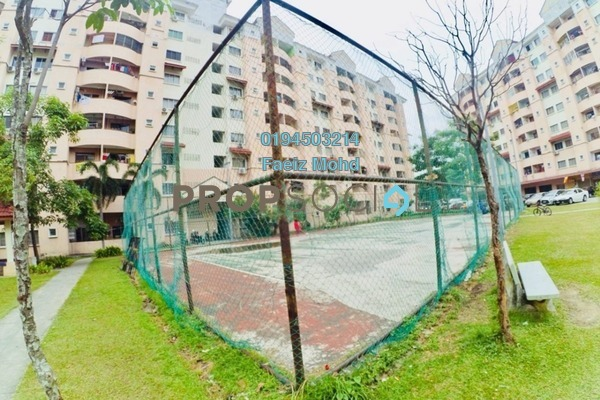 For Sale Apartment at Perdana Villa Apartment, Klang Freehold Fully Furnished 3R/2B 230k