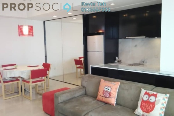 For Sale Condominium at VERVE Suites, Mont Kiara Freehold Fully Furnished 1R/1B 690k