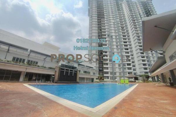 For Sale Condominium at Semarak Condominium, Batu Caves Freehold Semi Furnished 3R/2B 415k