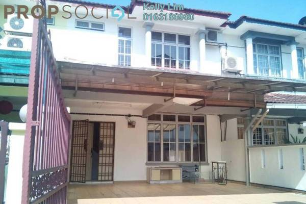 For Sale Terrace at Section 3, Bandar Mahkota Cheras Freehold Unfurnished 4R/3B 530k