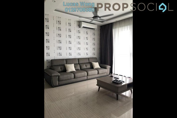 For Sale Condominium at Twin Arkz, Bukit Jalil Freehold Fully Furnished 3R/2B 1.13m