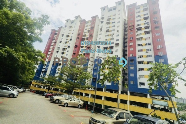 For Sale Apartment at Jalan Sungai Besi, Kuala Lumpur Leasehold Unfurnished 3R/2B 185k