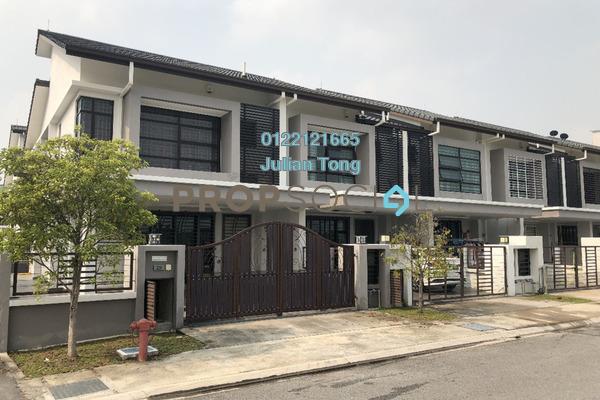 For Rent Link at Geta, Bandar Bukit Raja Freehold Semi Furnished 4R/3B 1.6k