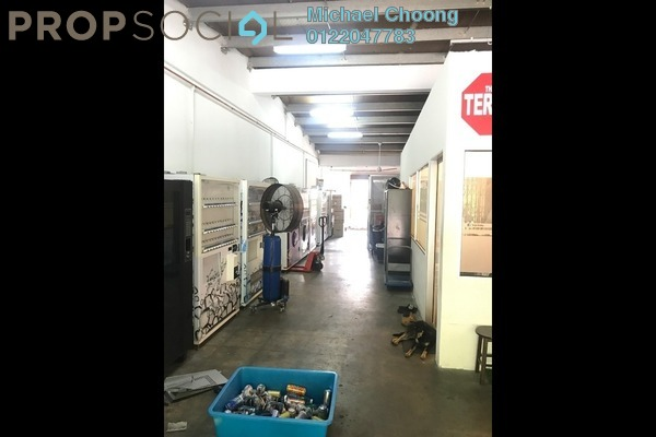 For Sale Factory at Pusat Bandar Puchong Industrial Park, Pusat Bandar Puchong Freehold Unfurnished 0R/0B 925k
