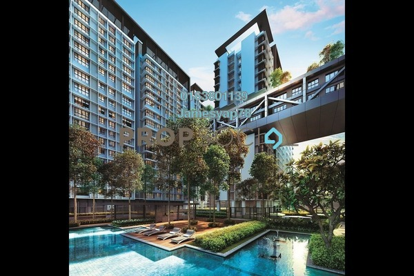 For Sale Serviced Residence at Cantara Residences, Ara Damansara Freehold Semi Furnished 1R/1B 526k