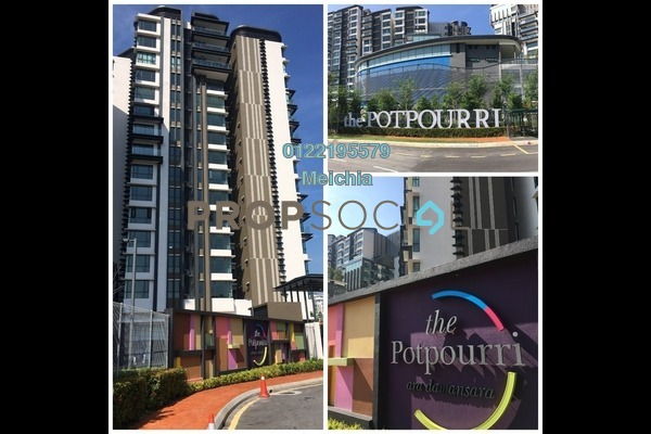 For Sale Condominium at The Potpourri, Ara Damansara Freehold Fully Furnished 2R/2B 970k