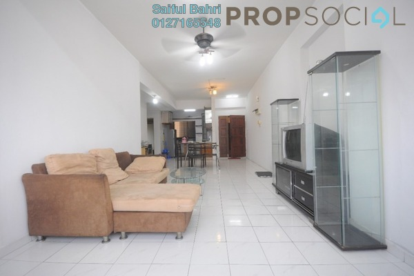 For Sale Condominium at Setapak Ria Condominium, Setapak Freehold Semi Furnished 3R/2B 375k