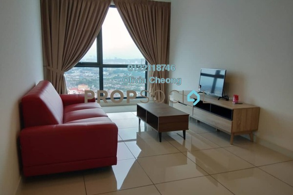 For Rent Serviced Residence at Sunway Geo Residences 2, Bandar Sunway Freehold Fully Furnished 2R/2B 3.2k