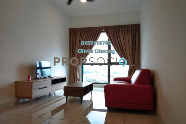 For Rent Serviced Residence at Sunway Geo Residences 2, Bandar Sunway Freehold Fully Furnished 2R/2B 3.3k
