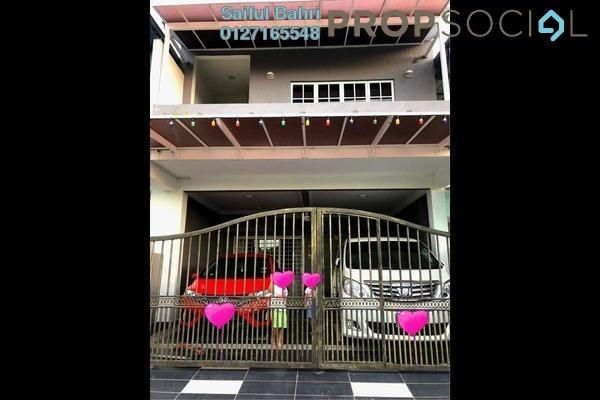 For Sale Terrace at Section 3, Bandar Mahkota Cheras Freehold Semi Furnished 4R/4B 780k