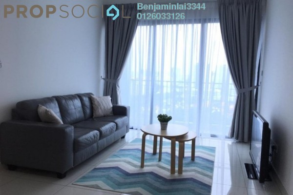 For Rent Serviced Residence at The Link 2 Residences, Bukit Jalil Freehold Fully Furnished 3R/2B 2.5k