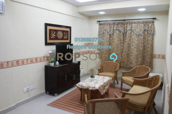 For Rent Apartment at Taman Cheras Intan, Batu 9 Cheras Freehold Fully Furnished 3R/2B 1k