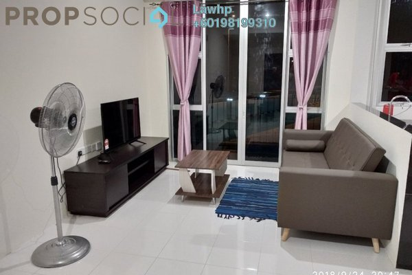 For Rent Apartment at Jalan RTM, Sibu Freehold Fully Furnished 3R/2B 1.4k