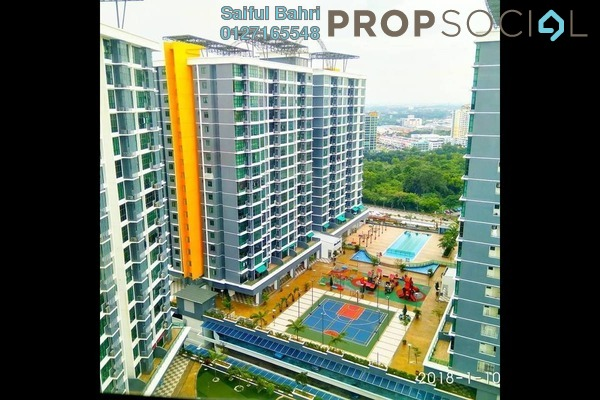 For Sale Condominium at Vista Alam, Shah Alam Freehold Semi Furnished 2R/2B 470k