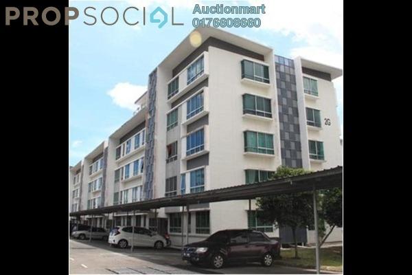 For Sale Apartment at University Utama Condominium, Kota Kinabalu Freehold Unfurnished 0R/0B 167k