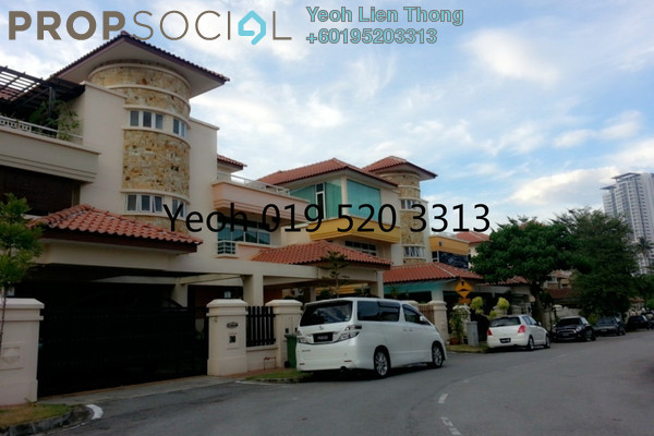 For Sale Terrace at Hill View Garden, Tanjung Bungah Freehold Semi Furnished 5R/4B 1.35m