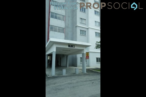 For Sale Apartment at Kemuning Aman, Kota Kemuning Freehold Semi Furnished 3R/2B 320k