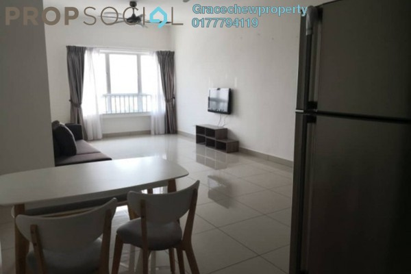 For Rent Apartment at Idaman Residence, KLCC Freehold Fully Furnished 2R/2B 1.38k