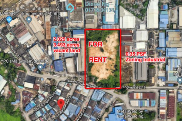 For Rent Land at Kawasan Perindustrian Sungai Rasau, Klang Freehold Unfurnished 1R/1B 25k