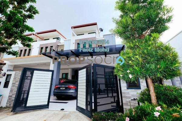 For Sale Terrace at Setia Indah, Setia Alam Freehold Fully Furnished 4R/4B 1.07m