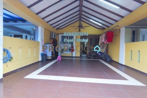 For Sale Terrace at Casa Bella, Bandar Bukit Raja Freehold Semi Furnished 3R/2B 415k