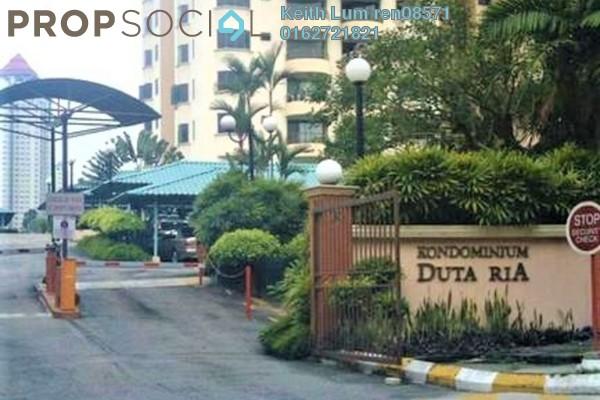 For Rent Condominium at Duta Ria, Dutamas Freehold Semi Furnished 3R/2B 1.7k