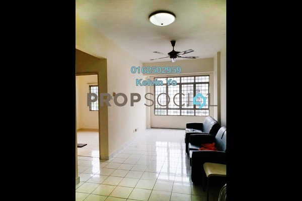 For Rent Condominium at Suria KiPark Damansara, Kepong Freehold Semi Furnished 3R/2B 1.1k