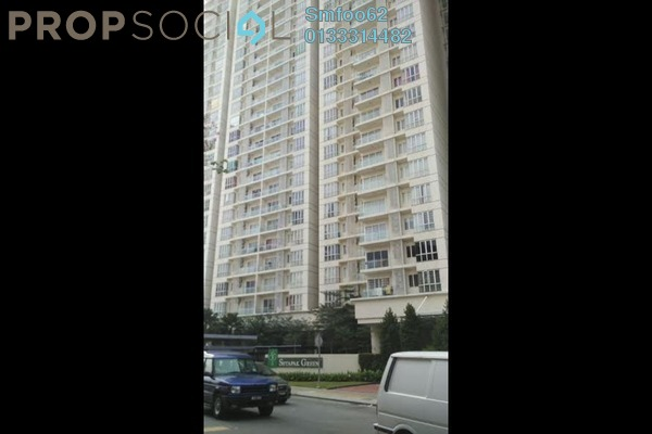 For Rent Condominium at Setapak Green, Setapak Freehold Fully Furnished 3R/2B 2.4k