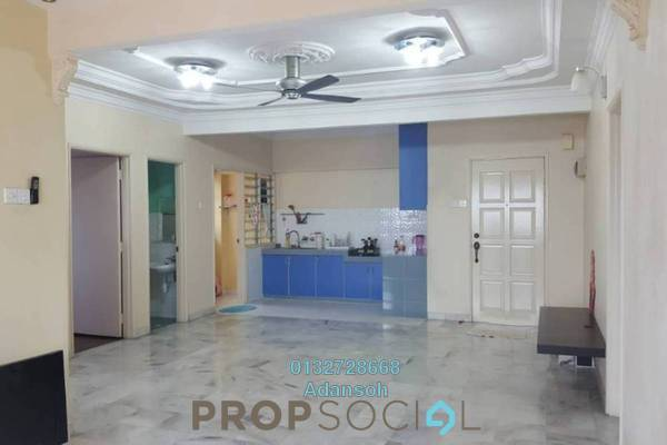 For Rent Apartment at Perdana Puri, Kepong Freehold Semi Furnished 3R/2B 1.1k