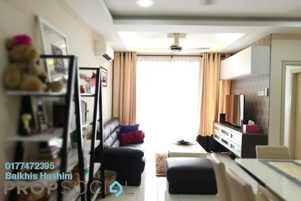For Sale Condominium at TTDI Adina, Shah Alam Freehold Fully Furnished 2R/2B 470k