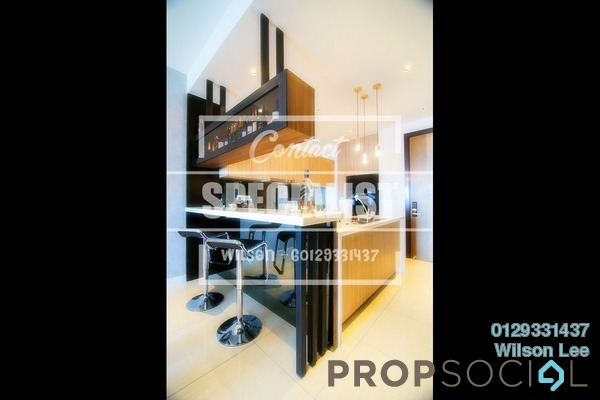 For Sale Condominium at Villa Crystal, Segambut Freehold Semi Furnished 4R/2B 800k