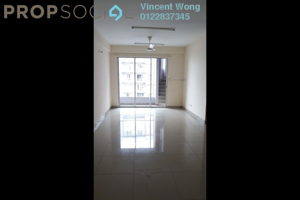 For Rent Serviced Residence at Platinum Lake PV21, Setapak Freehold Semi Furnished 2R/2B 1.7k