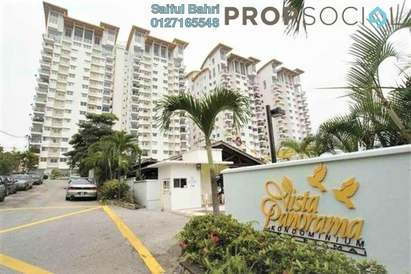 For Sale Condominium at Vista Panorama, Cheras Leasehold Semi Furnished 3R/2B 380k