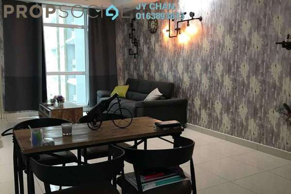 For Rent Condominium at Central Residence, Sungai Besi Freehold Fully Furnished 2R/2B 2k