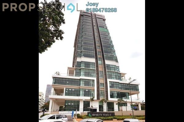 For Rent SoHo/Studio at Infinity Tower, Kelana Jaya Freehold Fully Furnished 1R/1B 3k