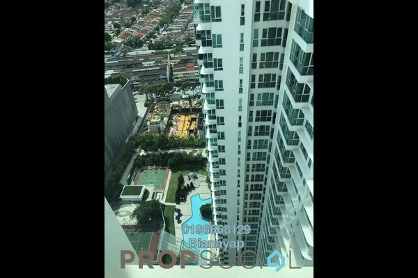 For Rent Condominium at Uptown Residences, Damansara Utama Freehold Fully Furnished 2R/2B 3k