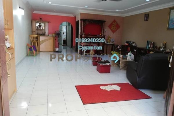 For Rent Terrace at Taman Wangsa Permai, Kepong Freehold Semi Furnished 4R/3B 1.6k
