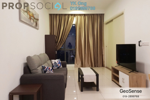 For Rent Condominium at Sunway Geo Residences 2, Bandar Sunway Freehold Fully Furnished 1R/1B 3k