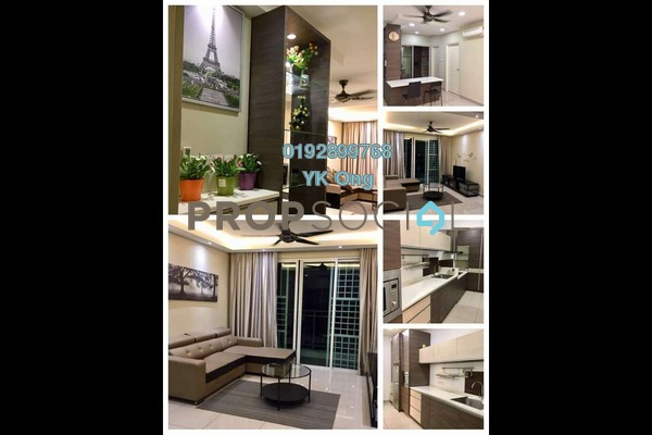 For Rent Serviced Residence at Pacific Place, Ara Damansara Freehold Fully Furnished 3R/2B 2.3k