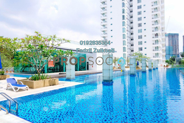 For Sale Condominium at Embassyview, Ampang Hilir Freehold Fully Furnished 3R/4B 1.75m