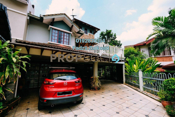 For Sale Terrace at Taman Melawati, Melawati Freehold Semi Furnished 5R/4B 1.4m