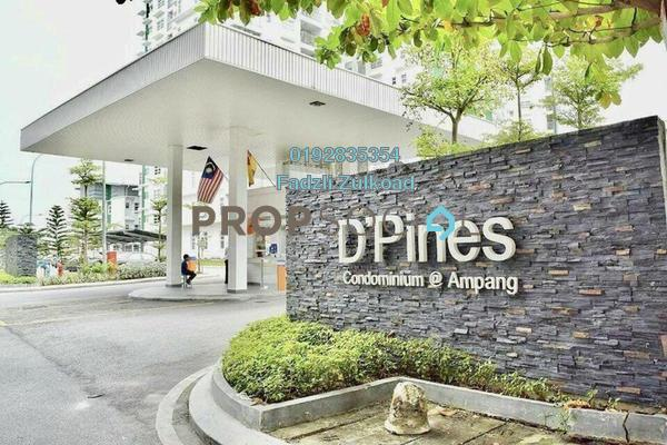 For Sale Condominium at D'Pines, Pandan Indah Freehold Unfurnished 3R/2B 570k