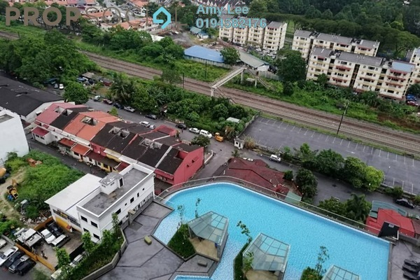 For Rent Condominium at D'Sands Residence, Old Klang Road Freehold Fully Furnished 1R/1B 1.09k